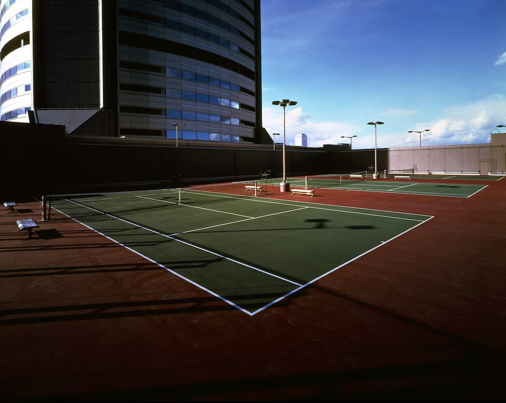 Tennis Court, Imperial Hotel Osaka