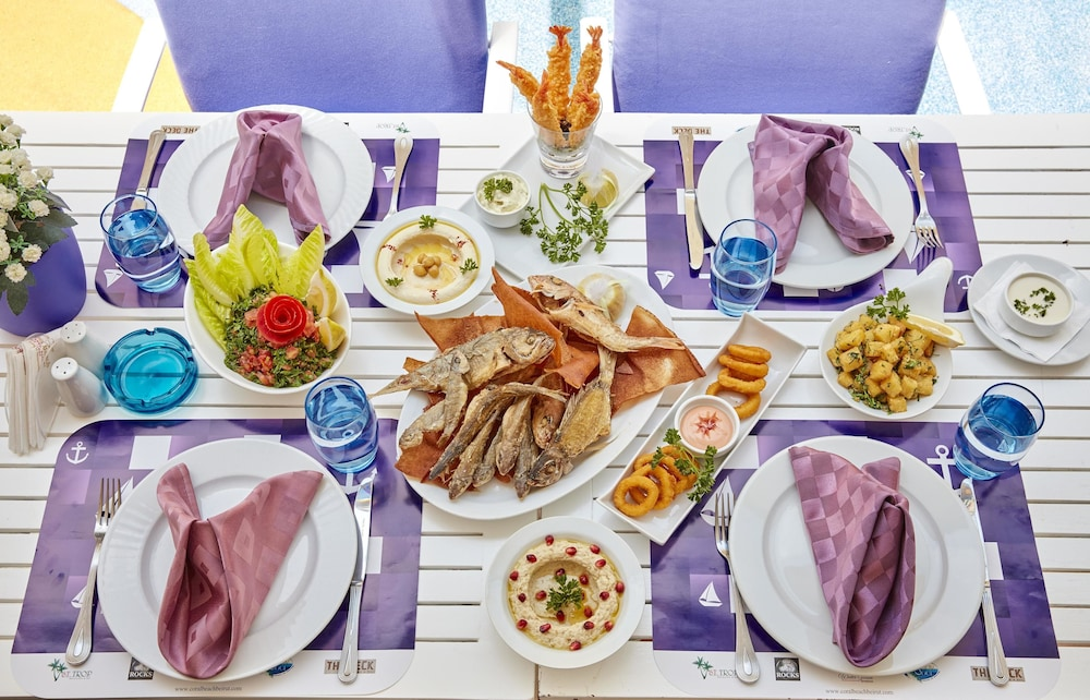 Restaurant, Coral Beach Hotel and Resort Beirut