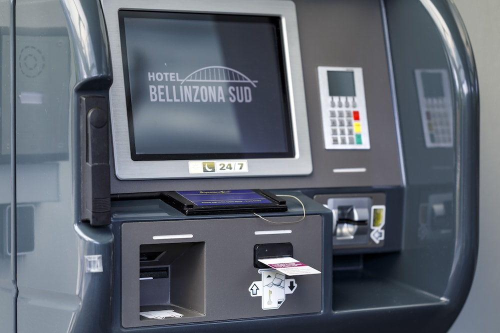 Check-in/Check-out Kiosk, Hotel Bellinzona Sud Swiss Quality