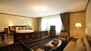 In-room safe, desk, free cribs/infant beds, rollaway beds