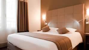 Luxe beddengoed, Select Comfort-bedden, een minibar