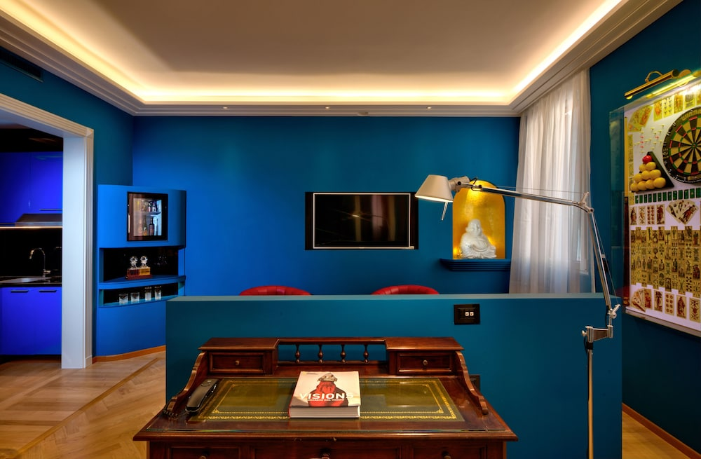 Living Area, Art Hotel Commercianti
