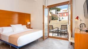 Minibar, gratis wi-fi og sengetøy
