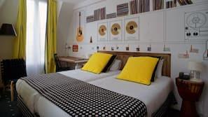 高級寢具、迷你吧、保險箱、隔音