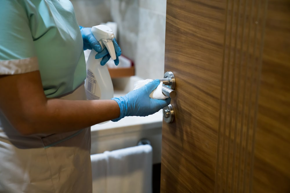 Cleanliness standards, Crowne Plaza Dubai Deira