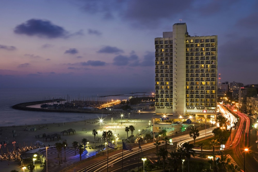 Front of Property - Evening/Night, Renaissance Tel Aviv