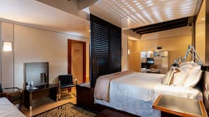 Minibar, in-room safe, free cots/infant beds, free WiFi