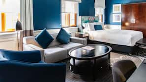 Egyptian cotton sheets, premium bedding, pillow top beds, minibar