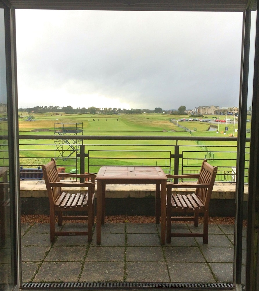 View from Room, Carnoustie Golf Hotel