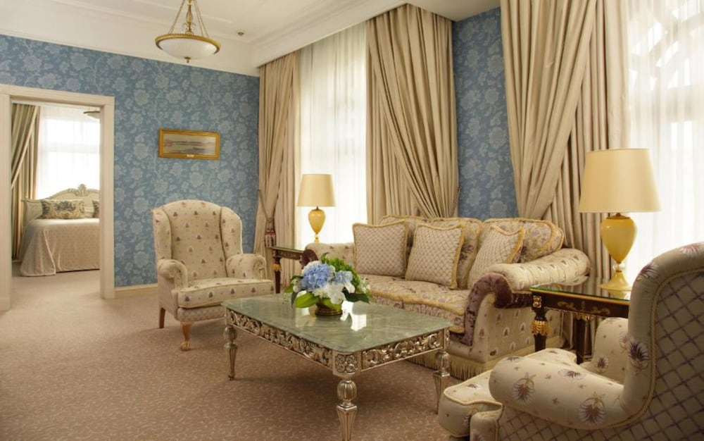 Living Room, Radisson Collection Hotel, Moscow