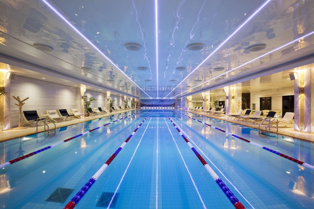 Indoor Pool, Radisson Collection Hotel, Moscow