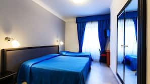 Draps italiens Frette, matelas Select Comfort, minibar