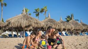 Playa privada cerca y servicio gratuito de transporte a la playa