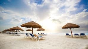 Beach towels, beach volleyball