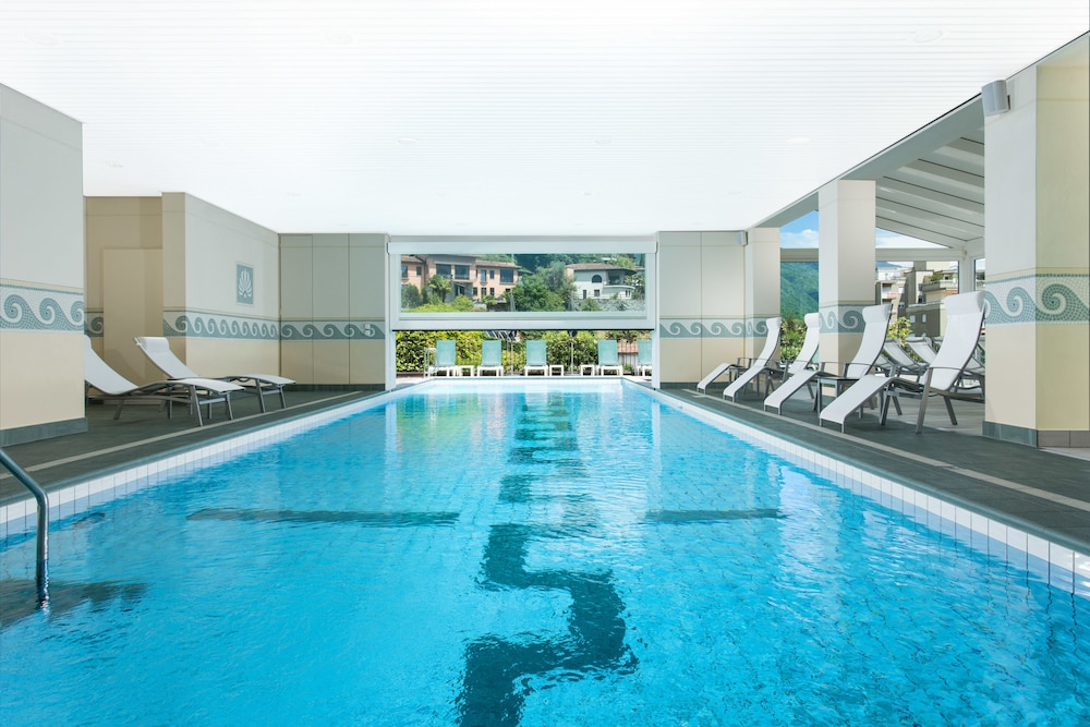 Indoor Pool, Hotel Belvedere Locarno