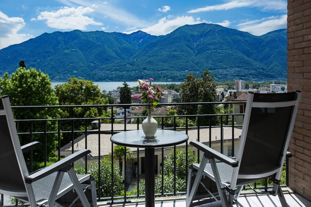 Land View from Property, Hotel Belvedere Locarno