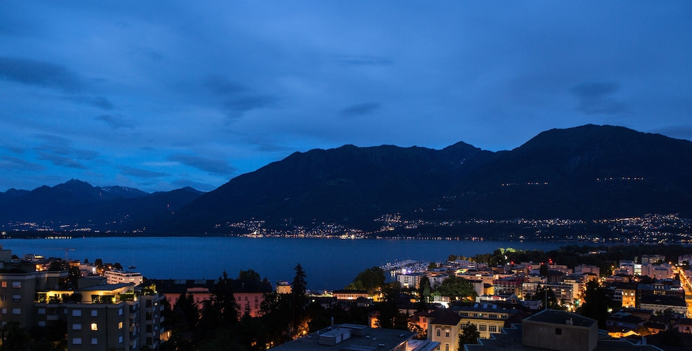View from Room, Hotel Belvedere Locarno