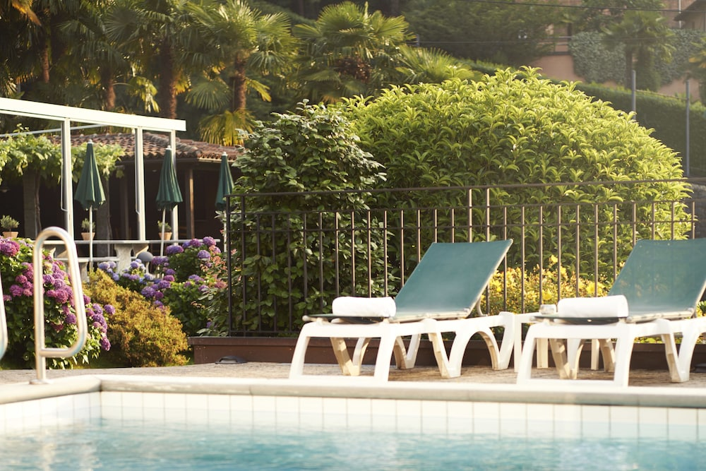 Outdoor Pool, Hotel Belvedere Locarno