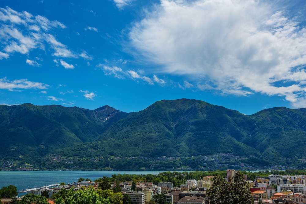 View from Property, Hotel Belvedere Locarno