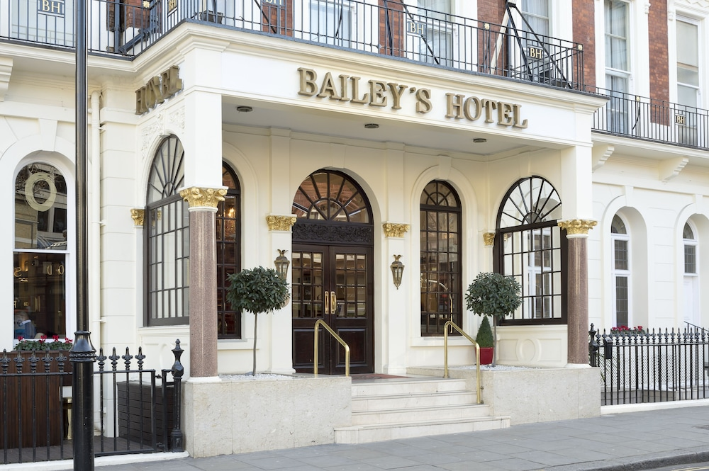 Exterior detail, The Bailey's Hotel London