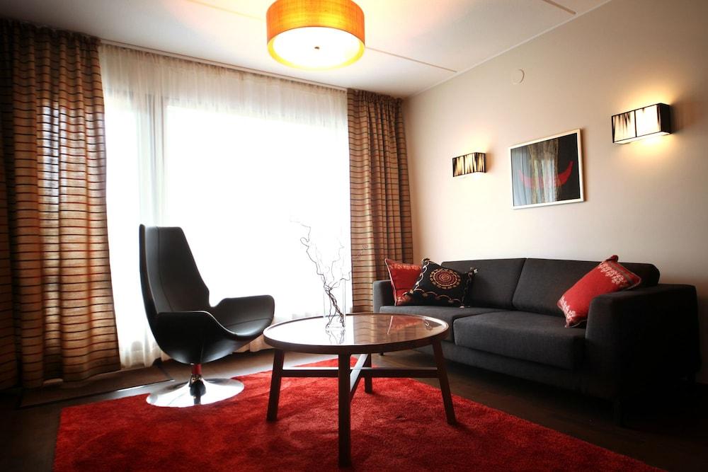 Salle de séjour levi hotel spa