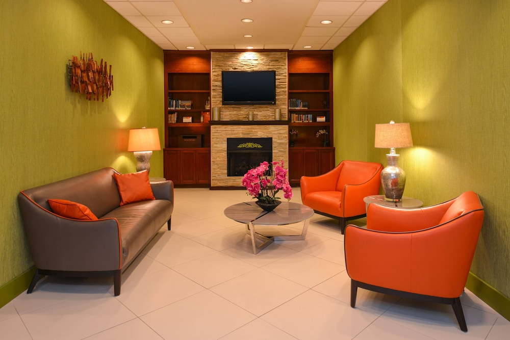 Library, Country Inn & Suites by Radisson, Nashville Airport, TN