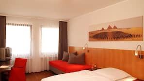 1 dormitorio, ropa de cama hipoalergénica, minibar y caja fuerte