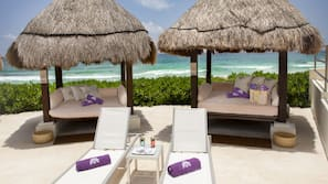 4 outdoor pools, pool cabanas (surcharge), pool umbrellas
