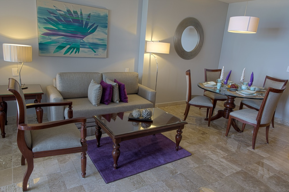 Living Area, Paradisus by Melia Cancun - All Inclusive