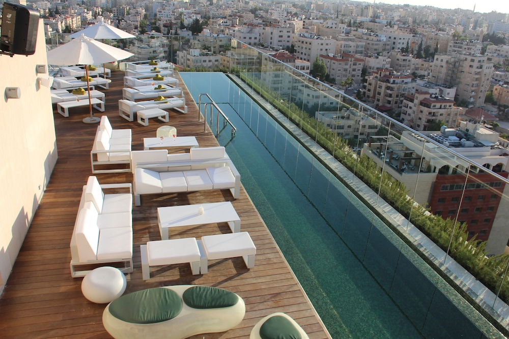 Outdoor Pool, Regency Palace Amman