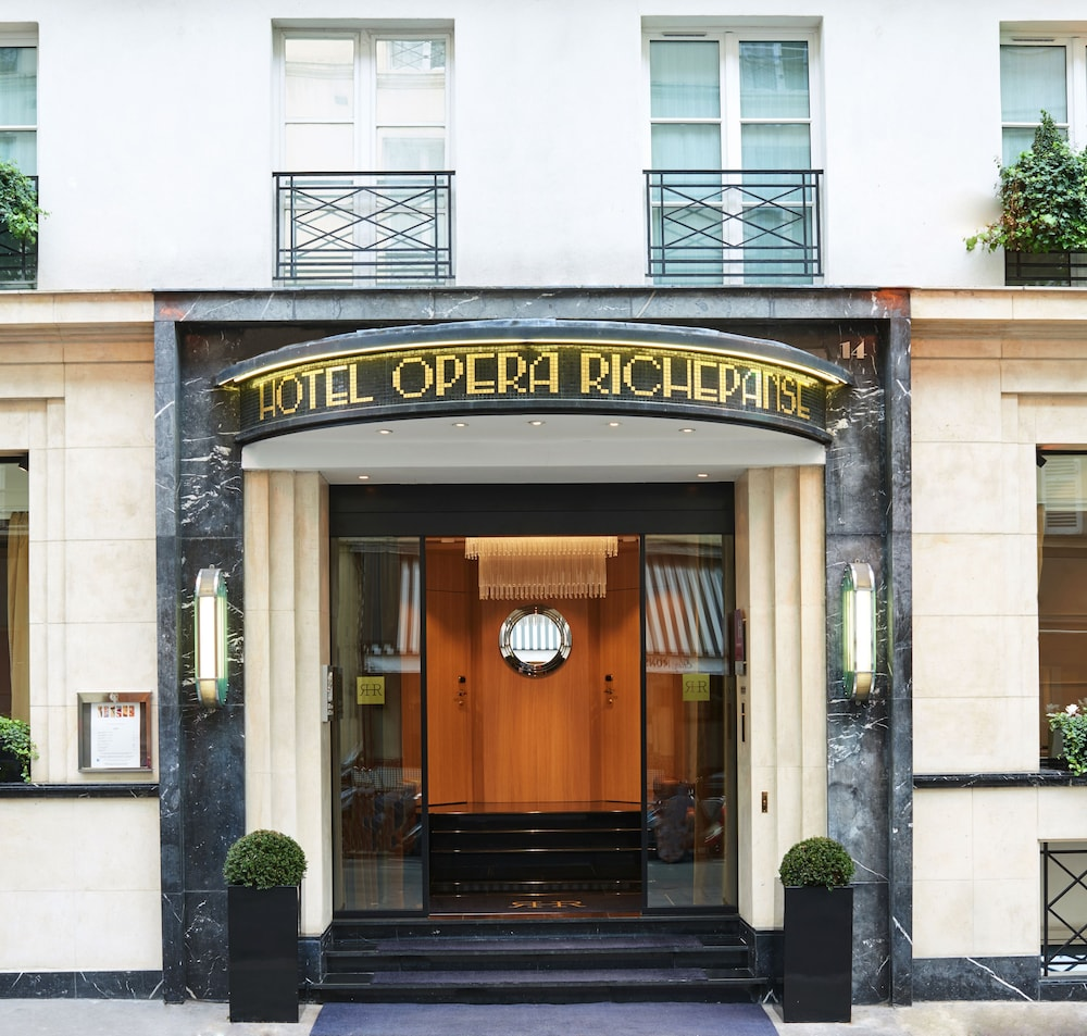 Property Entrance, Hôtel Opéra Richepanse