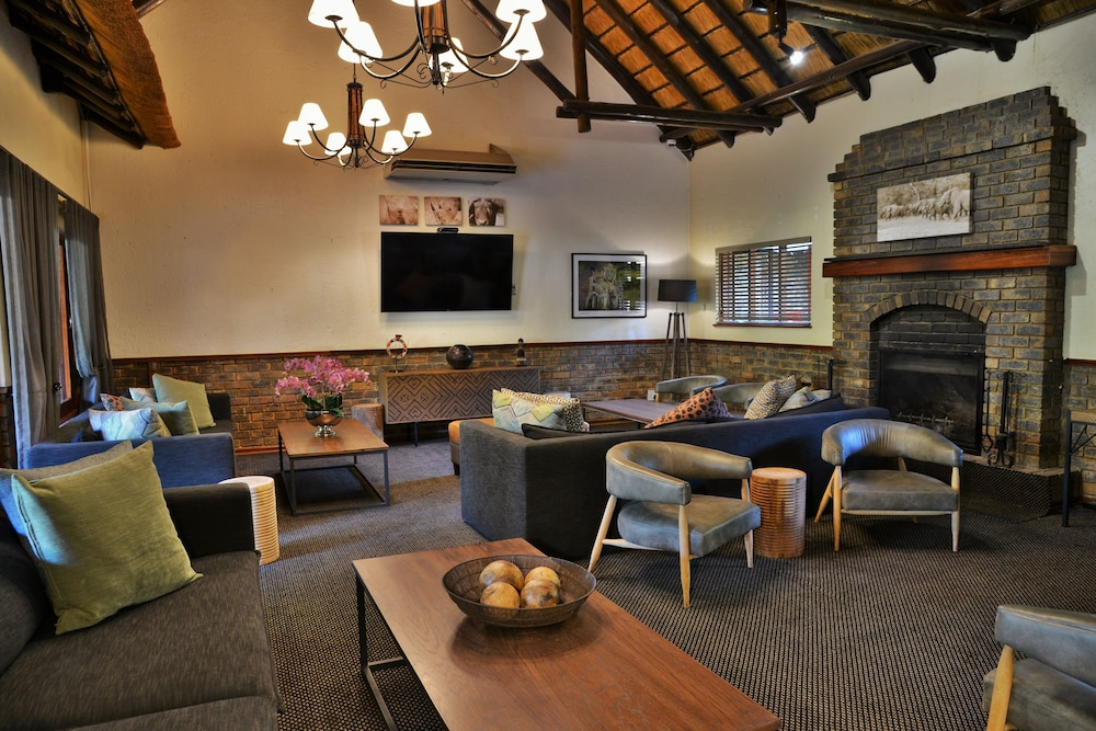 Lounge, Bakubung Bush Lodge