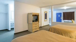 Free rollaway beds, free WiFi, wheelchair access