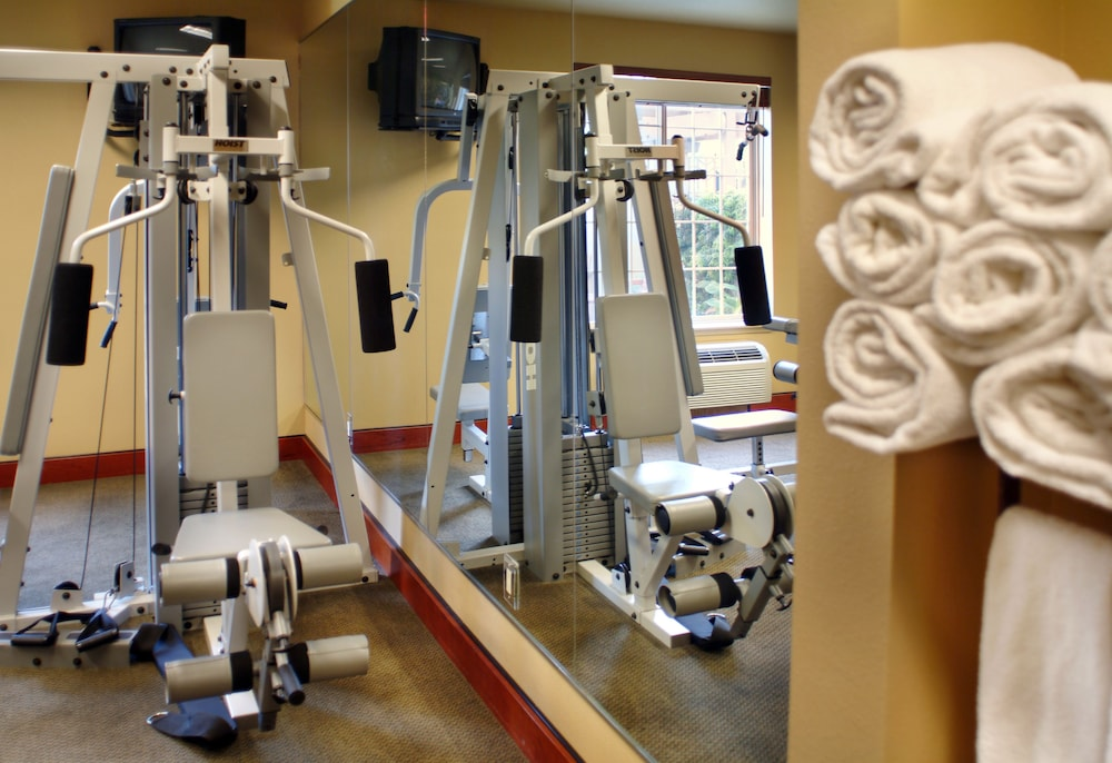 Fitness Facility, Larkspur Landing Campbell - An All-Suite Hotel