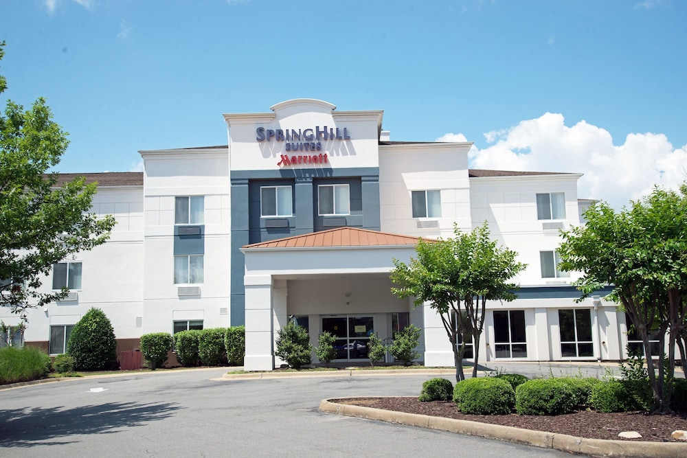 Exterior, Springhill Suites Marriott Little Rock West