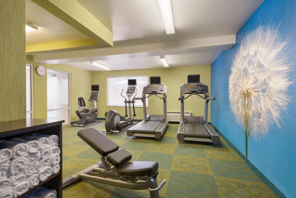 Fitness Facility, Springhill Suites Marriott Little Rock West