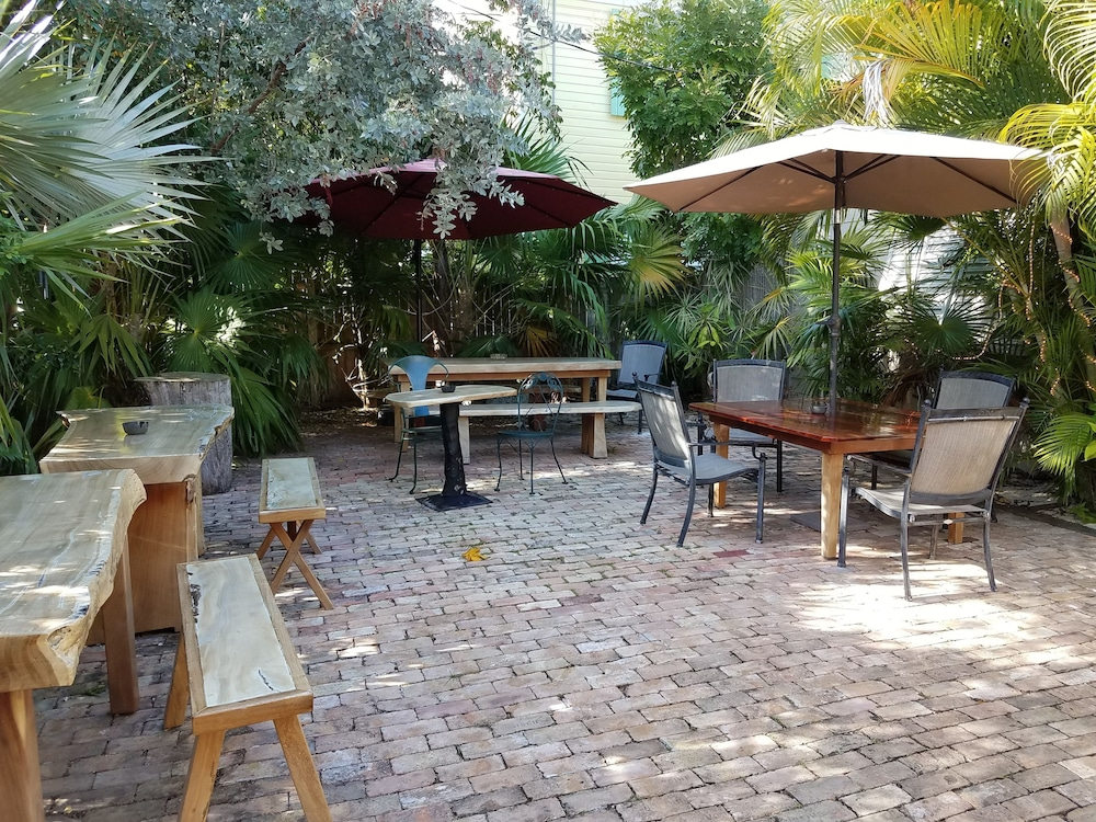 Breakfast Area, Authors of Key West Guest House