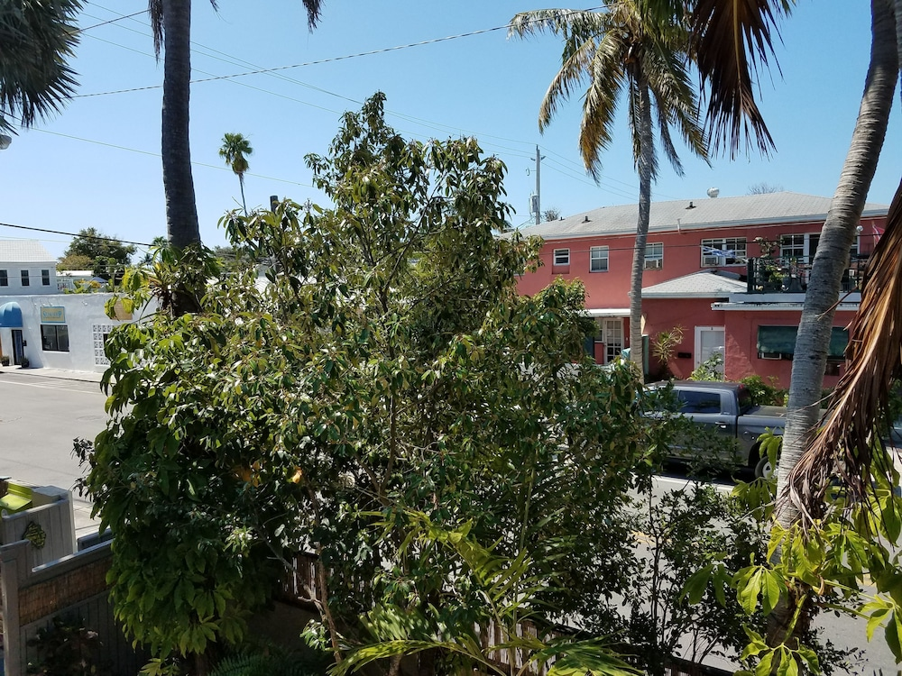View from Property, Authors of Key West Guest House