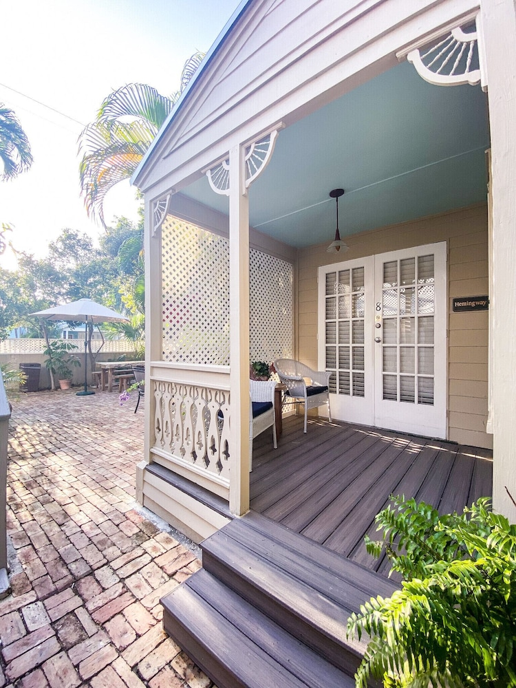 Terrace/Patio, Authors of Key West Guest House