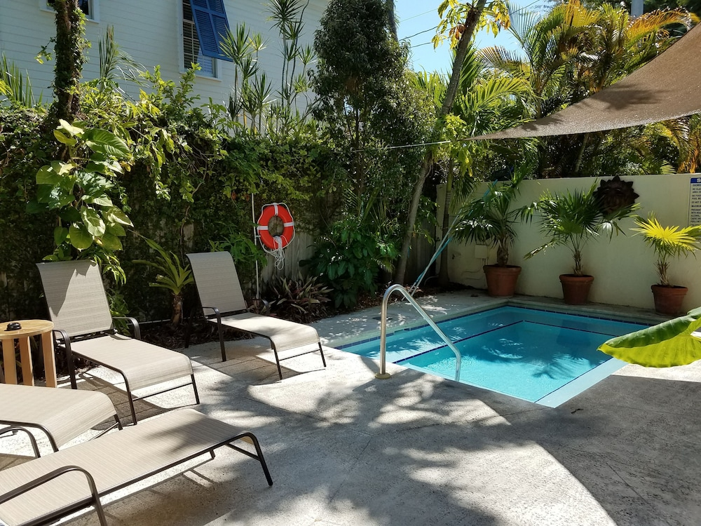 Outdoor Pool, Authors of Key West Guest House