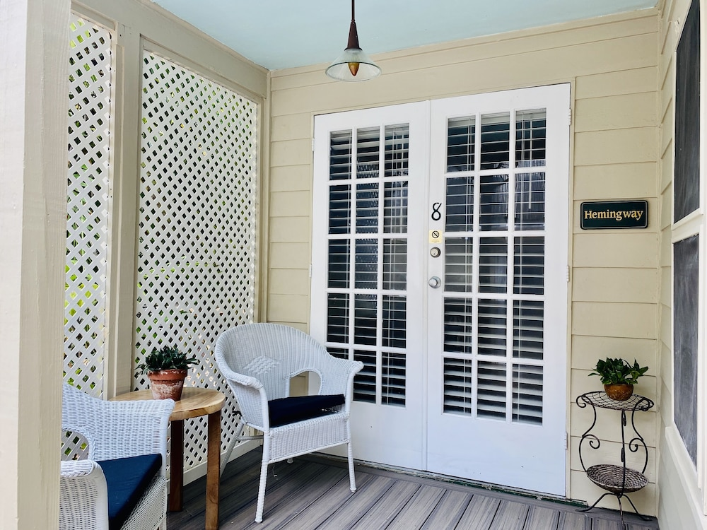 Porch, Authors of Key West Guest House