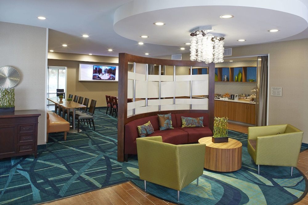 Lobby, Springhill Suites By Marriott Atlanta Six Flags