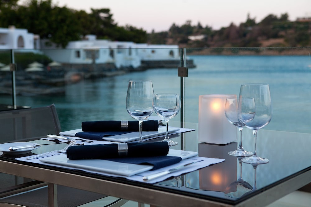 Restaurant, Minos Beach art hotel