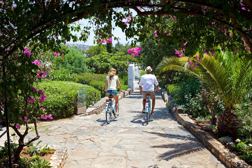Bicycling, Minos Beach art hotel