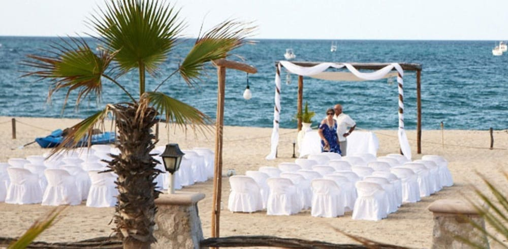 Outdoor Wedding Area, Buena Vista Beach Resort