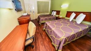 Desk, laptop workspace, iron/ironing board, free WiFi