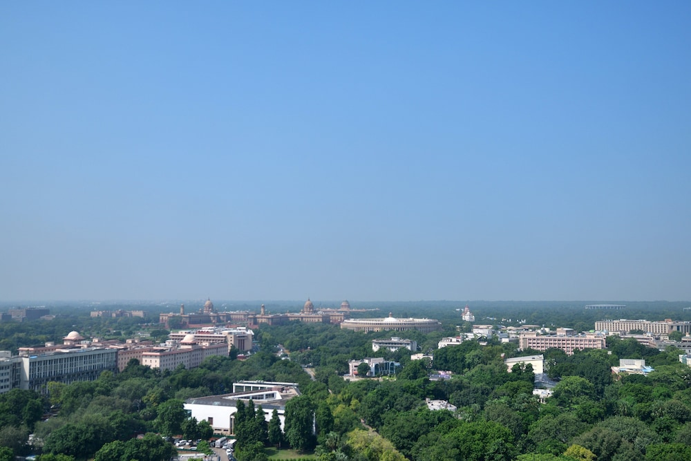 View from Room, Le Meridien New Delhi