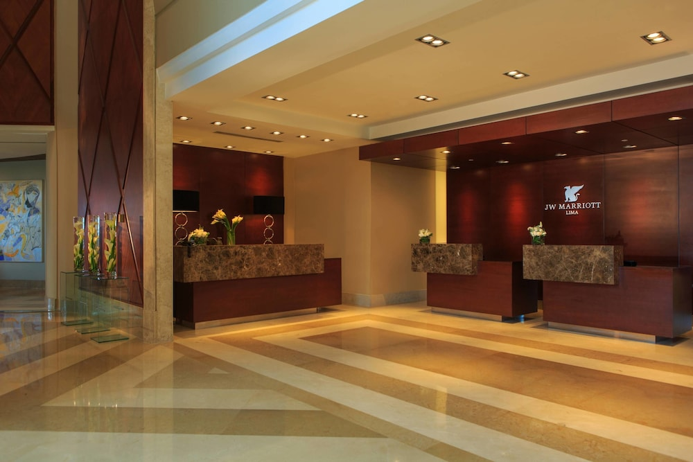 Jw Marriott Hotel Lima 5 0 Out Of Aerial View Featured Image Lobby