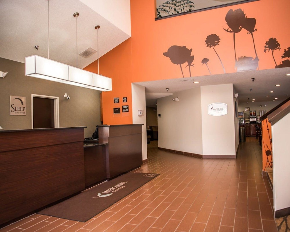 Lobby, Sleep Inn & Suites at Concord Mills