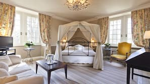 Premium bedding, minibar, in-room safe, cots/infant beds